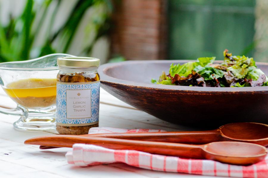 Recipe: Lemon Garlic Tinapa Salad Dressing